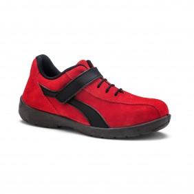 Chaussure de sécurité basse femme - Eléa rouge S1P S24