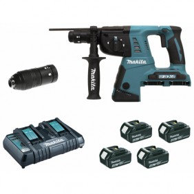 Marteau perforateur sans fil SDS+ 2x18 V-DHR264PM4J MAKITA