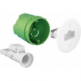 Boîte d'encastrement luminaire en applique - pour maçonnerie - XLTradi EUROHM