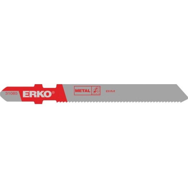 Lame de scie sauteuse - pour métaux et inox - 50 mm ERKO