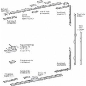Élément intermédiaire pour fermetures GU 330 FERCO