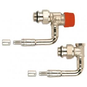 Kit de robinetterie thermostatique -bitube M30 - Equerre inversé à sertir COMAP