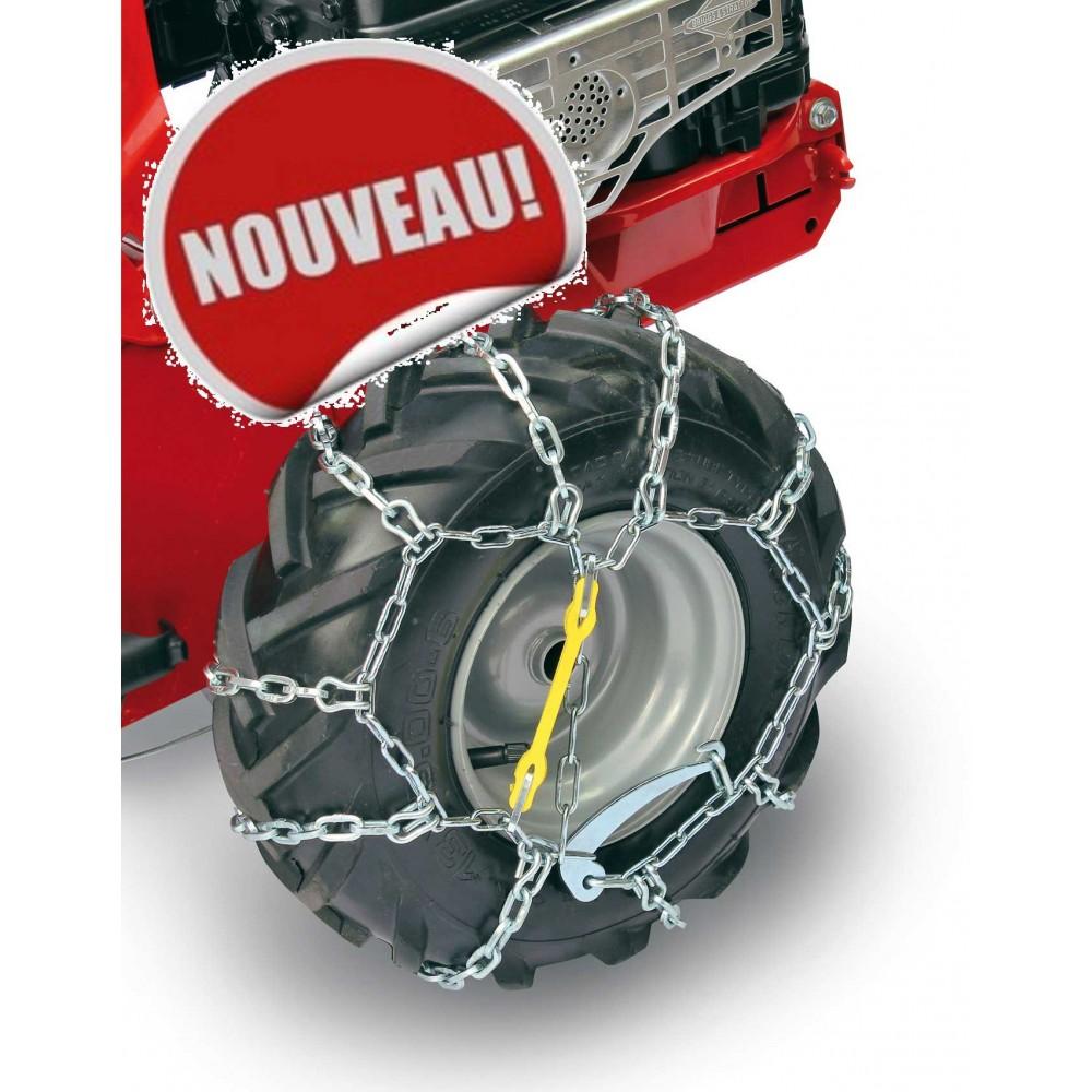 paire de chaines pour pneus minieffe 502 eurosystems bricozor. Black Bedroom Furniture Sets. Home Design Ideas