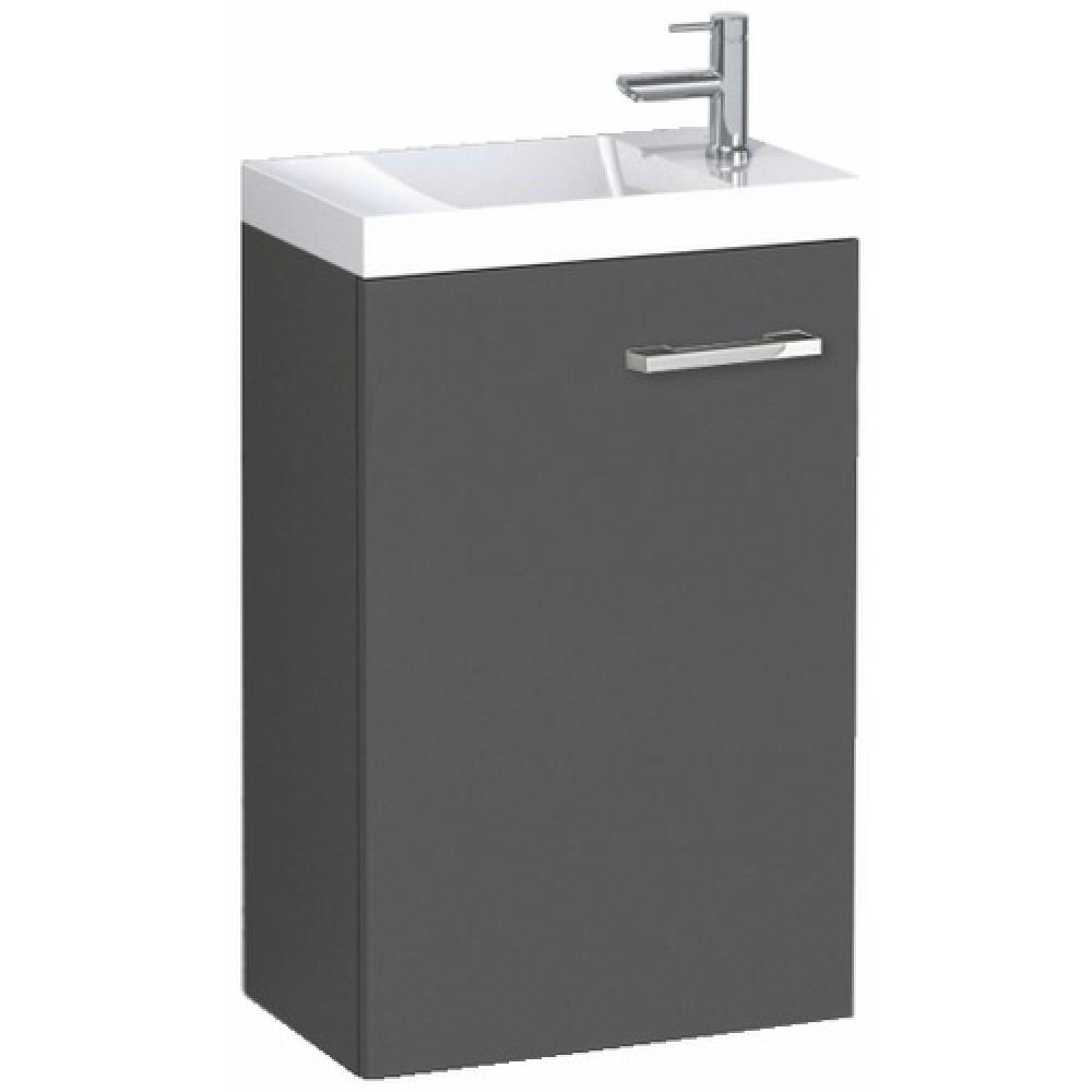 meuble lave mains suspendu graphite palerme 400x600 mm nova