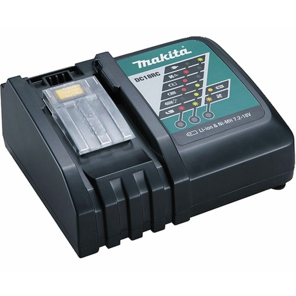 Chargeur pour batteries 14 4 v et 18 v dc18rc makita - Batterie visseuse makita 14 4 v ...