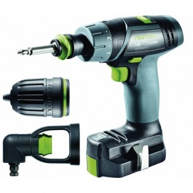 Perceuse visseuse sans fil 10,8 V TXS Li 2,6 Set FESTOOL