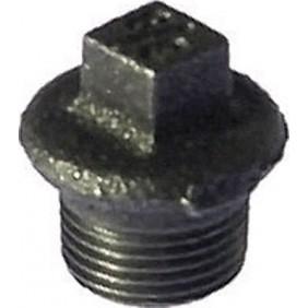 Bouchon fonte mâle galvanisé ou noir CODITAL