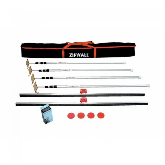 Kit de protection de travaux ZIPWALL TÉLESTEPS