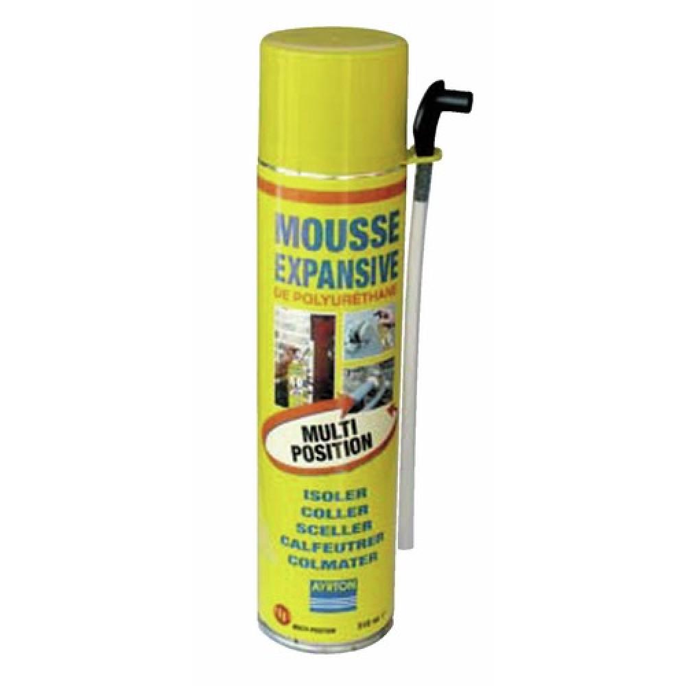 mousse polyur thane bombe manuelle multi positions 510 ml ayrton bricozor