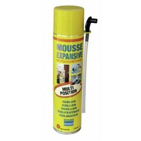 Mousse polyuréthane, bombe manuelle multi positions 510 ml AYRTON