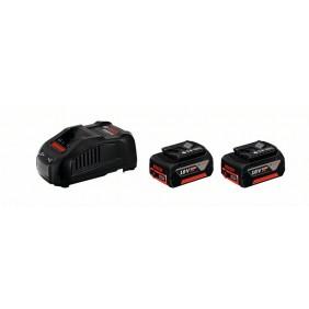 Batterie 18V 6Ah x 2 + chargeur GAL1880 CV Professional - 1600A00B8L BOSCH