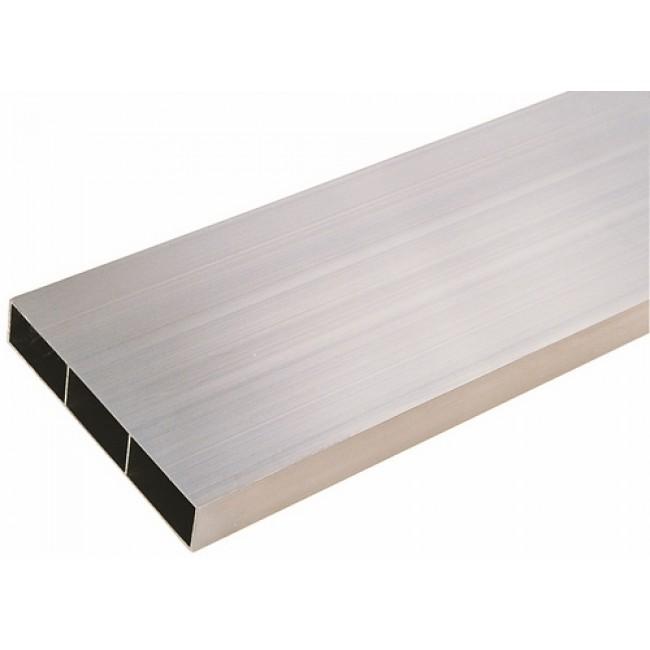 Règle de maçon en aluminium - 2 voiles - 3 alvéoles TALIAPLAST