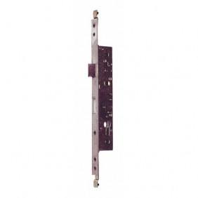 Serrure à larder 3 points à tringles plates - cylindre européen -T7-R MÉTALUX