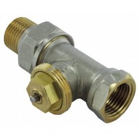 Corps de robinet thermostatique - droit - débit réglable - M28x1.5 COMAP