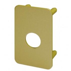 Contre-plaque de renfort - verrou à cylindre rond 25 mm - Radial NT VACHETTE