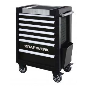 Servante d'atelier avec 7 tiroirs système anti basculement - P407 nue KRAFTWERK