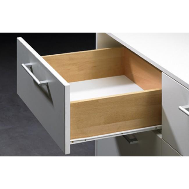 coulisses galets fr 602 charge 35kg sortie partielle hettich bricozor. Black Bedroom Furniture Sets. Home Design Ideas