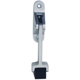 Arrêt de porte à bascule - compatible ferme-porte - 1060 argent KWS