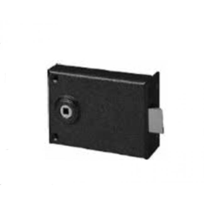Serrure en applique - bec de cane - carré de 6 mm ABUS