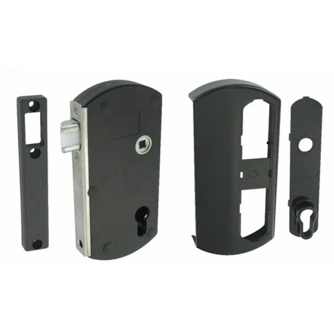 Serrure Modulox pour portillon bois/PVC/alu TIRARD