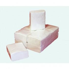 Lot de 120 rouleaux de papier toilette vierge en paquets PAPECO