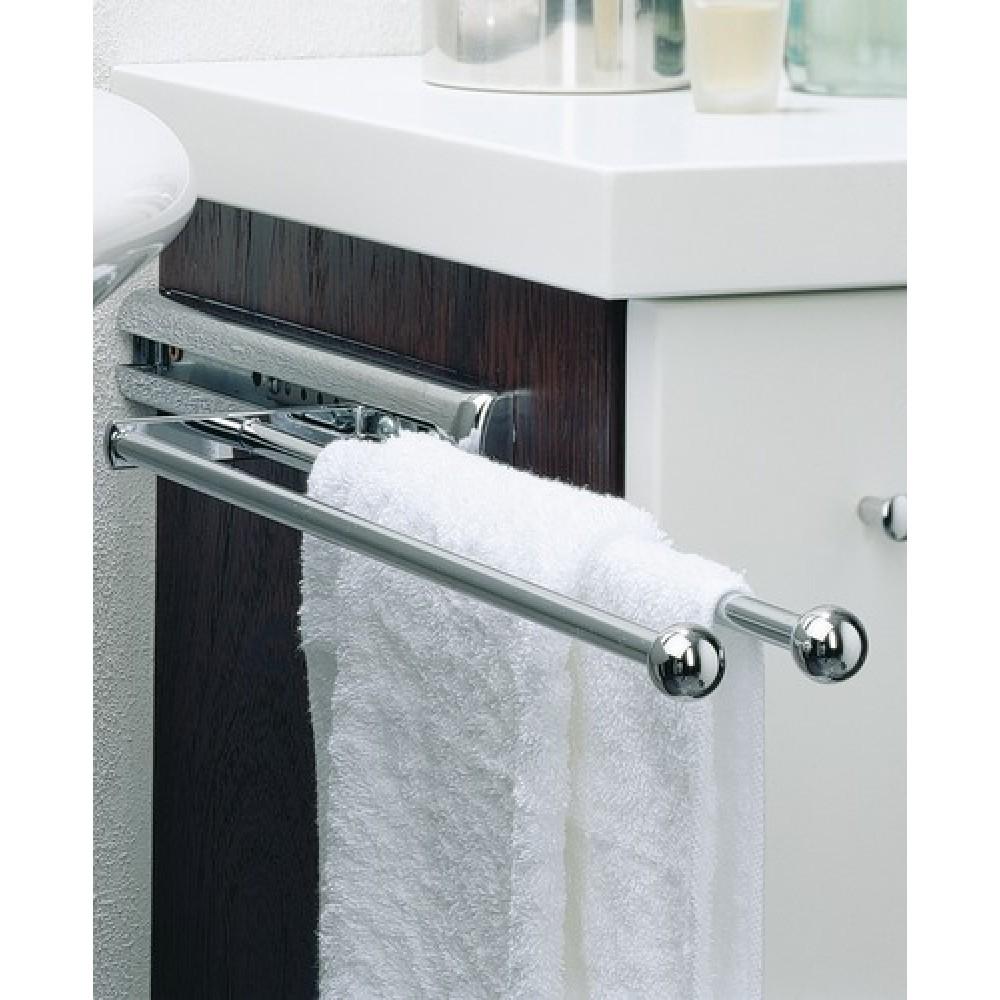 porte serviettes 2 barres hettich bricozor. Black Bedroom Furniture Sets. Home Design Ideas