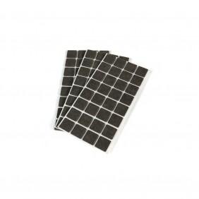 Patins en feutre adhésifs pour protection des meubles - carrés EMUCA