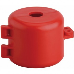Consignation de vanne de gaz - en nylon rouge FTH THIRARD
