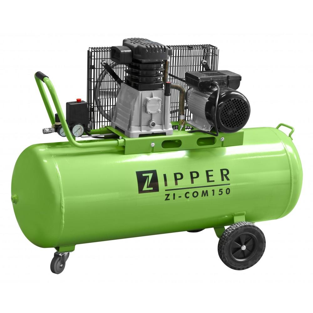 compresseur cuve 150 litres zi com150 zipper bricozor. Black Bedroom Furniture Sets. Home Design Ideas