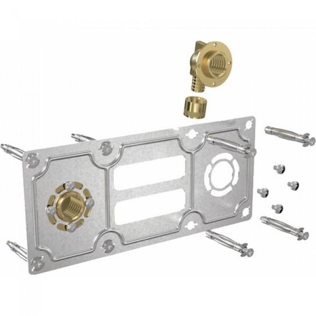 Fixation robinetterie entraxe 150mm à glissement - per 12 mm - Robifix GRIPP