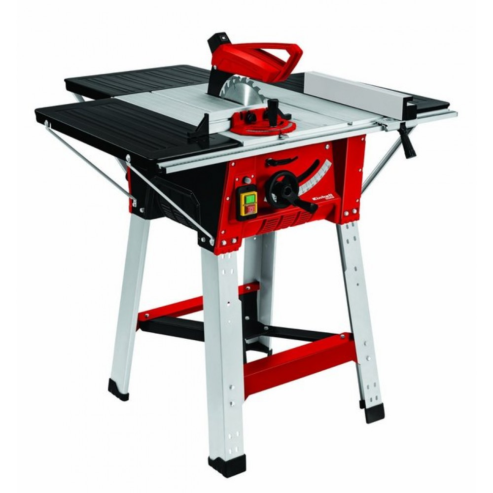 Scie circulaire sur table 1800 w te ts 1825 u bricozor for Table circulaire extensible