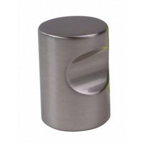Boutons de meuble à encoche zinc METAKOR