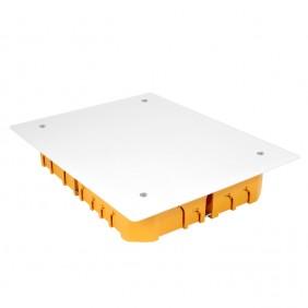 Boite de dérivation carrée - orange DEBFLEX