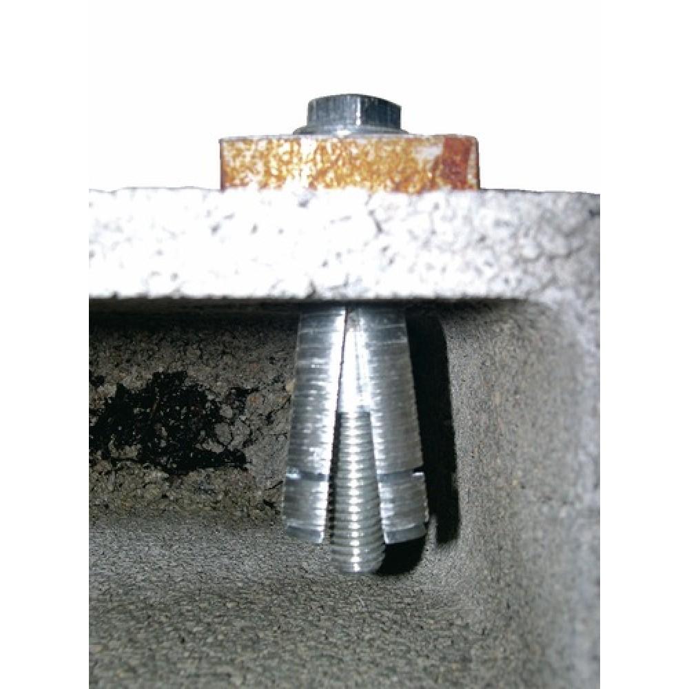 Chevilles m talliques expansion avec vis prima spit bricozor - Vis beton sans cheville ...