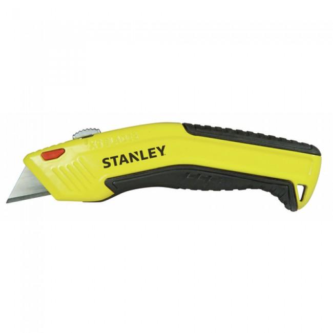 Couteau à lame rétractable à recharge automatique - recharge 5 lames STANLEY