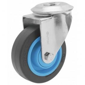 Roulette pivotante - à oeil - Résilex® - charges moyennes - Gemroll GUITEL