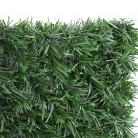 Haie végétale artificielle - 243 brins - vert Thuyas - 1,50 x 3 m JET7GARDEN