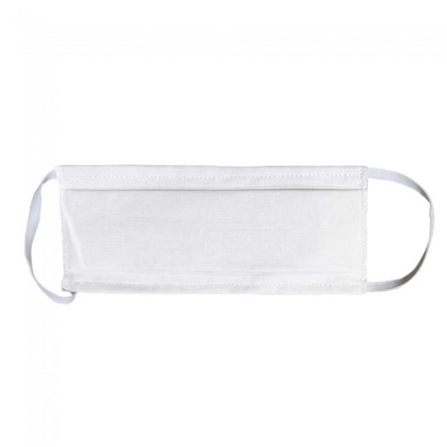 Masque à plis en tissu lavable et solidaire La Chiffo