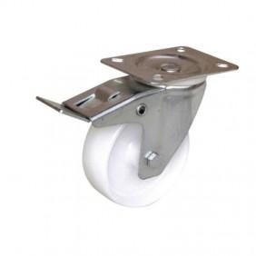 Roulettes pivotantes à blocage sur platine - Port Roll® GUITEL