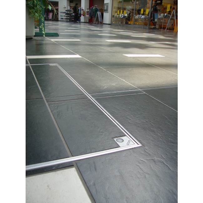 Tampons de visite à carreler - Aluminium ACO PASSAVANT