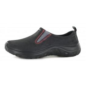 Chaussures de jardin homme Derby - noir/rouge BLACKFOX