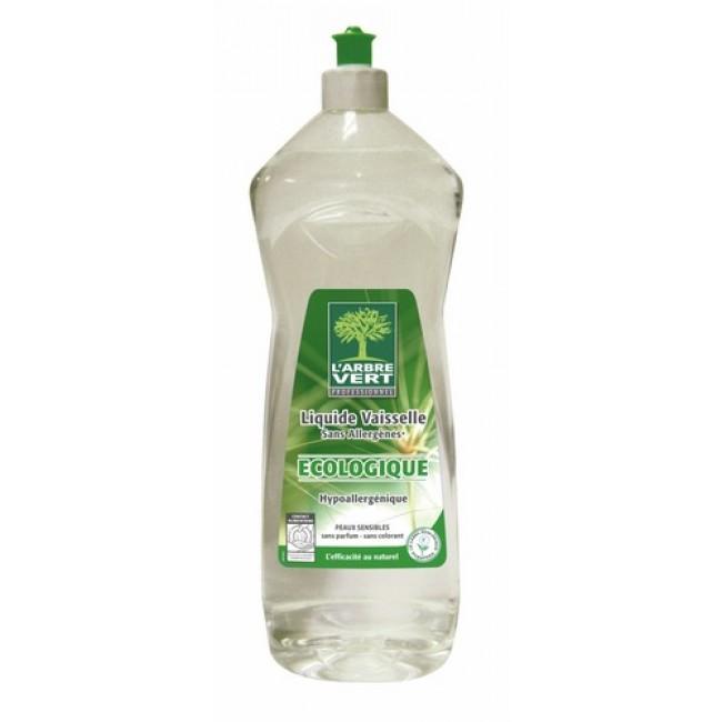 Liquide vaisselle  et mains - écologique - sans allergène ARBRE VERT