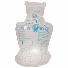 Sanisac en polyuréthane - wc Eco ECOPERL