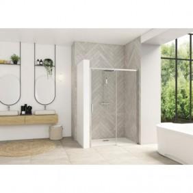 Porte de douche - volet coulissant sans seuil - Smart Design C KINEDO