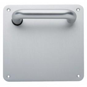 Poignée de porte palière sur plaque carrée - Vittel DUVAL
