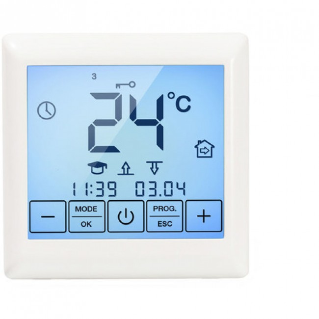 Thermostat électronique et digital - écran tactile - SE200 WARMFLOOR24