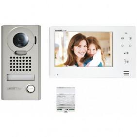 Interphone vidéo mains libres à fil - résidentiels - kit complet AIPHONE