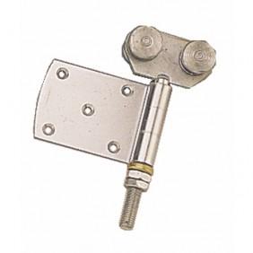 Roulettes doubles à demi-charnière pour porte coulissante ROB