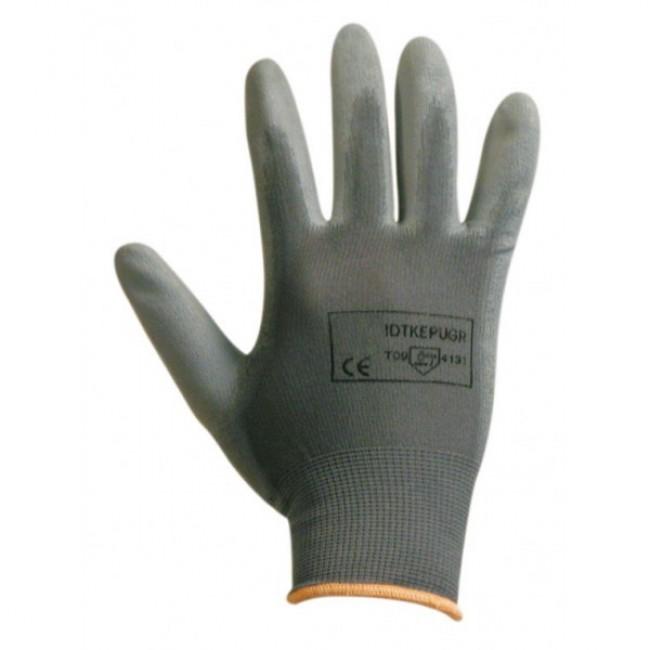 Lot de 12 paires de gants fins à usage courant - gris ARCOTEK