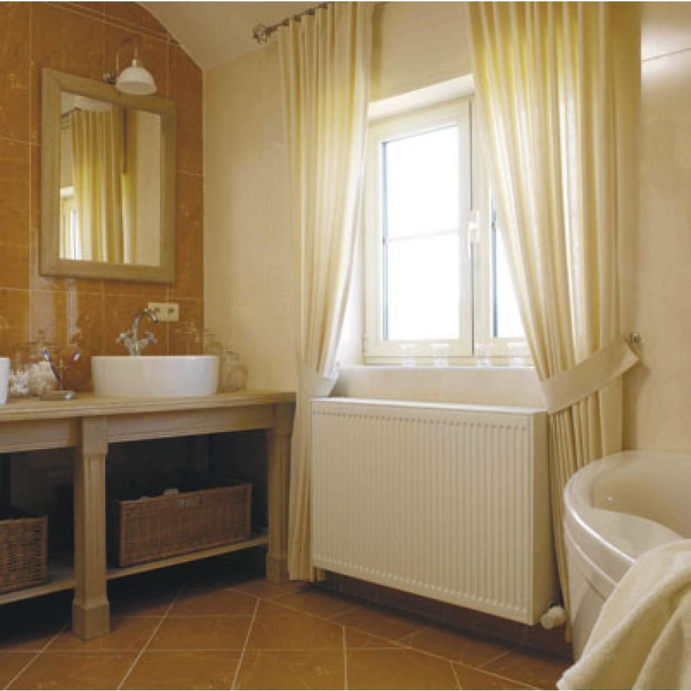 radiateur chauffage central horizontal quattro 21 quinn bricozor. Black Bedroom Furniture Sets. Home Design Ideas